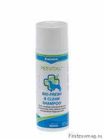 Шампунь PETVITAL Bio Fresh & Clean Shampoo 200 мл.