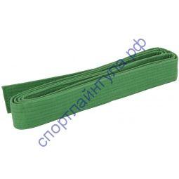 Пояс для кимоно зелёный AMID 3 м
