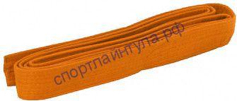 Пояс для кимоно Оранжевый