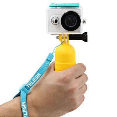 Монопод + поплавок  Telesin  для  action камер   (Selfee stick - monopod)
