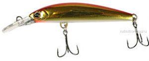 Воблер Jackall Midia 88S   88 мм / 10,8 гр / тонущий  / цвет: haku red & gold
