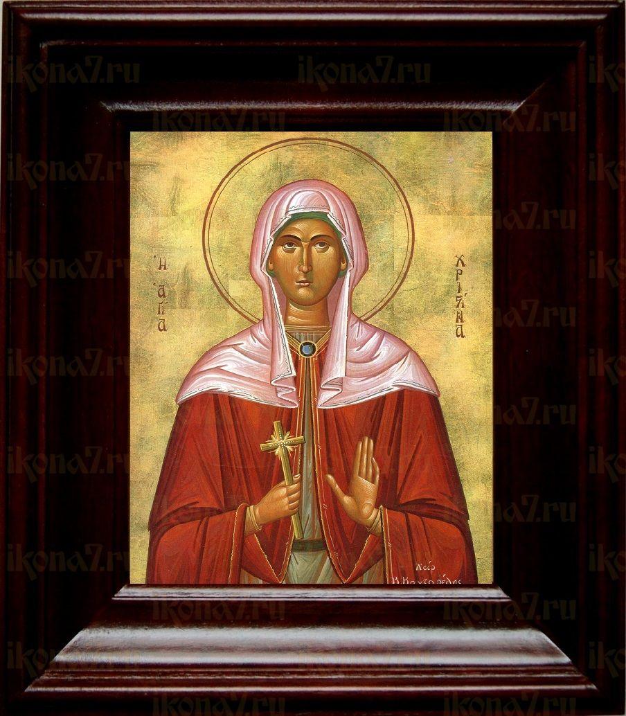 Христина Тирская (21х24), простой киот