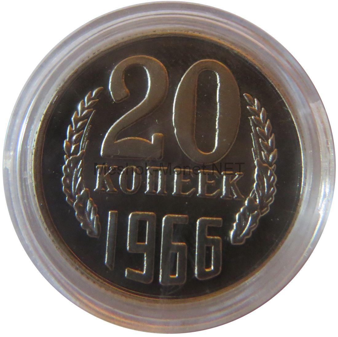 Копия монеты 20 копеек 1966 года