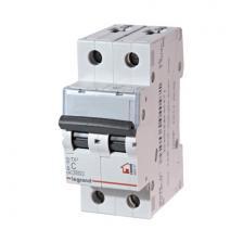 Автоматический выключатель TX3 тип С 20A 2-полюсный 6кА