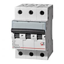 Автоматический выключатель TX3 тип С 25A 3-полюсный 6кА