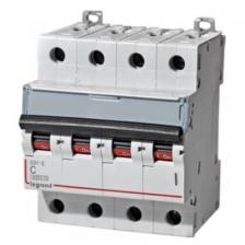 Автоматический выключатель DX3 тип С 63А 4-полюсный 6кА