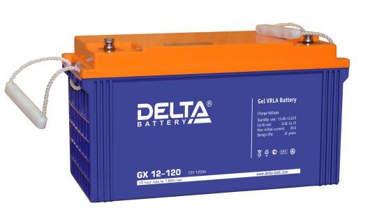 Аккумулятор свинцово-кислотный АКБ DELTA (Дельта) GX 12-120 12 Вольт 120 Ач (Gel)