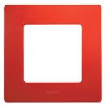 Рамка 1 пост Legrand Etika (Красный)