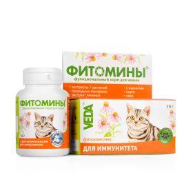ФИТОМИНЫ с фитокомплексом для иммунитета для кошек (50 г)
