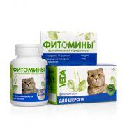 ФИТОМИНЫ с фитокомплексом для шерсти для кошек (50 г)