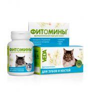 ФИТОМИНЫ с фитокомплексом для зубов и костей для кошек (50 г)