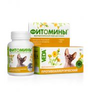 ФИТОМИНЫ с противоаллергическим фитокомплексом для кошек (50 г)