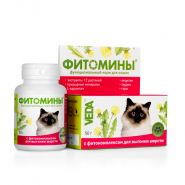 ФИТОМИНЫ с фитокомплексом для выгонки шерсти для кошек (50 г)