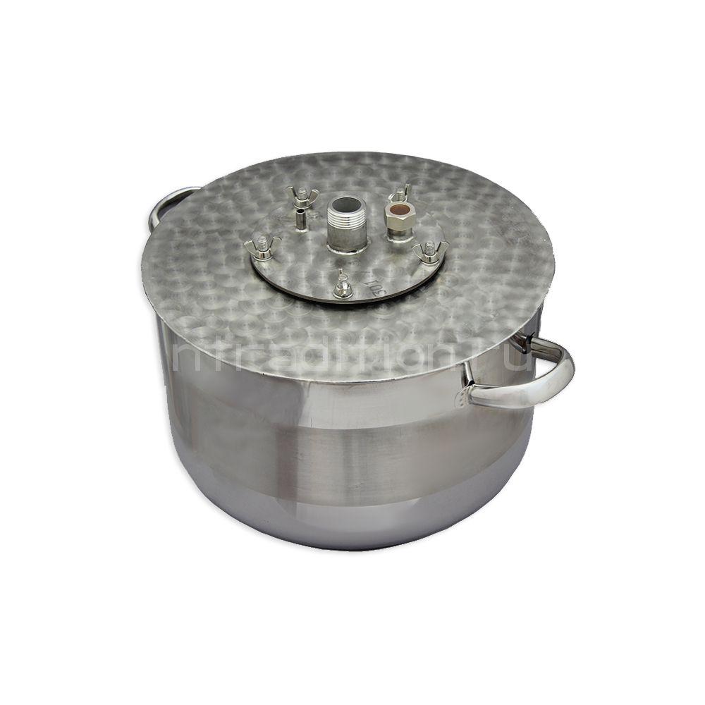 Куб для дистилляции/ректификации ХД/4-17В (внешний нагрев)