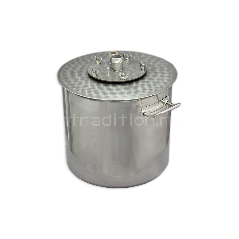 Куб для дистилляции/ректификации ХД/4-21В (внешний нагрев)