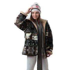 Куртка из овечьей шерсти Арктика