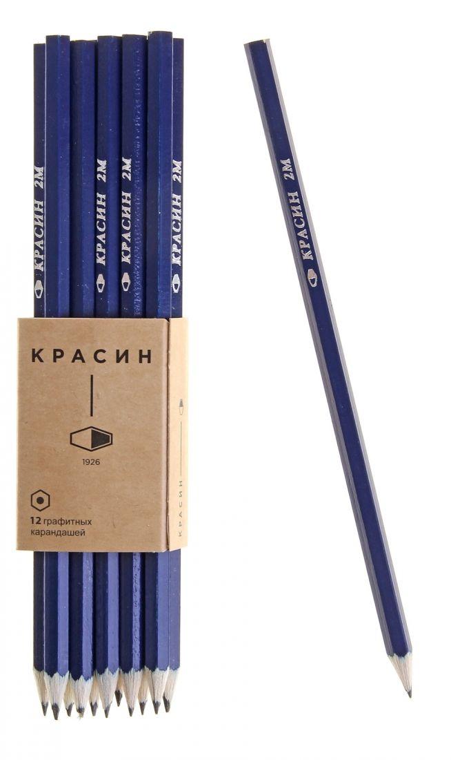 Чёрнографитный карандаш Мистер Красин
