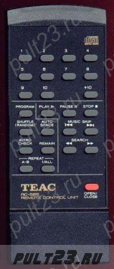 TEAC RC-585, RC-632, CD-P1100, CD-P1800