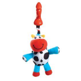 Развивающая подвесная игрушка теленок «Кузя»