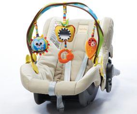Радуга - дуга подвесная с комплектом игрушек