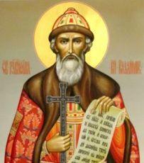 Икона Владимир (рукописная)
