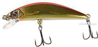 Купить Воблер Jackall Tricoroll 55F 55 мм / 2,9 гр плавающий цвет: haku red & gold