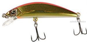 Воблер Jackall Tricoroll 55F  55 мм / 2,9 гр / плавающий / цвет:  haku red & gold