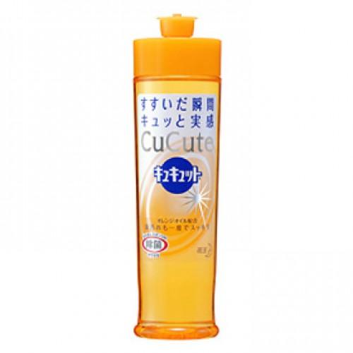 Жидкость-концентрат для мытья посуды CuCute KAO аромат апельсина