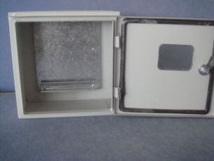 Ящик ЩУГ-1 IP54 310х300х150 АДАПТ С ЗАМКОМ