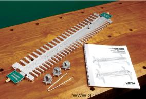 Шаблон F3M c метрическими размерами профилей для ящичных шипов для шипорезки Leigh D4R Pro М00010346