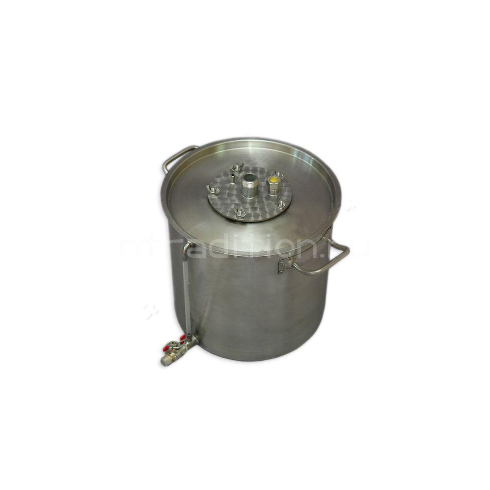 Куб для дистилляции/ректификации ХД/4-25В (внешний нагрев)