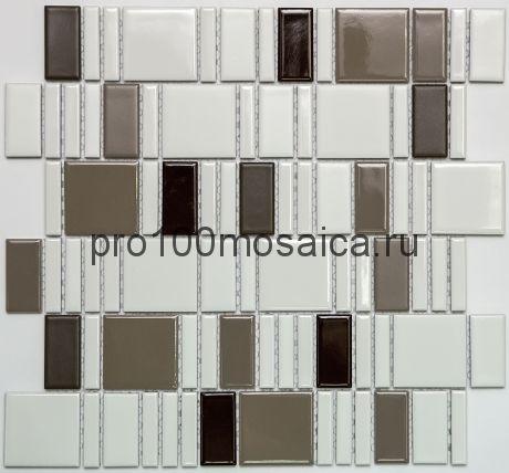 PS2348-12. Мозаика серия PORCELAIN, размер, мм: 300*300*5 (NS Mosaic)