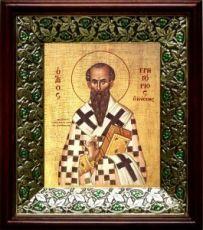Григорий Богослов (21х24), киот со стразами