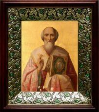Григорий Неокесарийский (21х24), киот со стразами