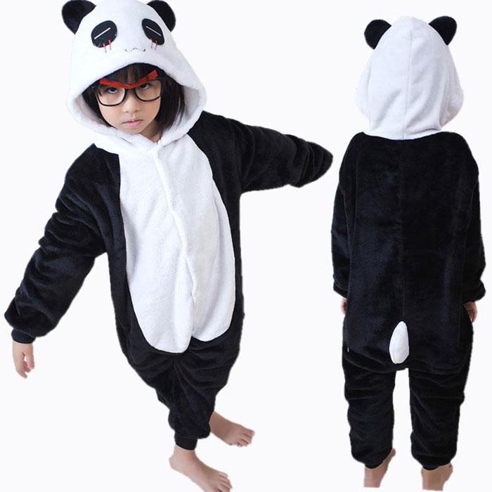 Пижама Кигуруми Детская Панда_01