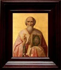 Григорий Неокесарийский (21х24), простой киот