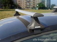 Багажник на крышу Volkswagen Golf Plus, Атлант, крыловидные дуги