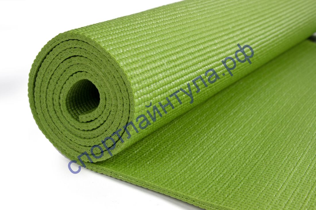 Коврик гимн. для йоги и фитнеса Sportsteel 1231-20 ПВХ, 173х61х0,6мм нескольз. поверхность