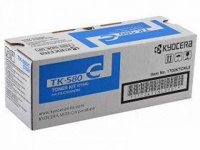TK-580C  Тонер-картридж  оригинальный Kyocera 2800 стр. Cyan
