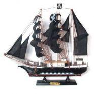 """Корабль """"Сonfection"""", L33 W32 см (с пиратскими парусами) (арт. 672242) (12663)"""
