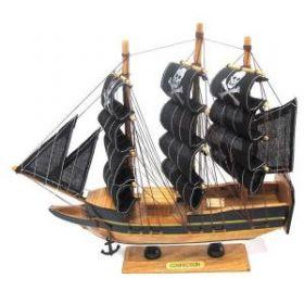 """Корабль """"Сonfection"""", L24 см (с пиратскими парусами) (арт. 587172) (04098)"""