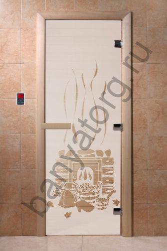 Дверь для бани DoorWood Банька Сатин