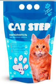 Cat Step Впитывающий силикагелевый наполнитель (3,8 л)