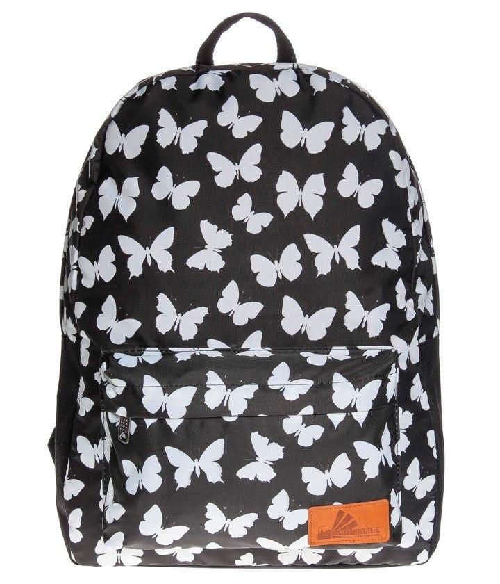 Рюкзак ПодЪполье Butterflies on black