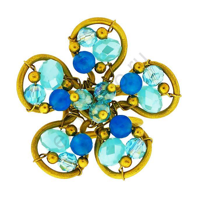 "Кольцо Ericson Manansala 34705-9529 ""Цветок"""