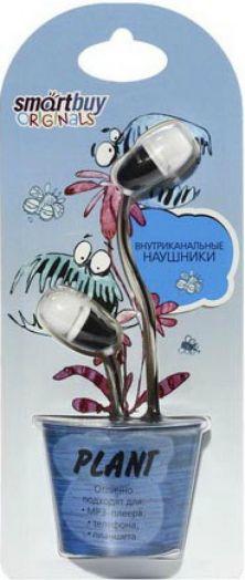 Наушники проводные пассивные SmartBuy® PLANT, черные