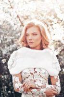 Норковая накидка Skornyakova Design Couture