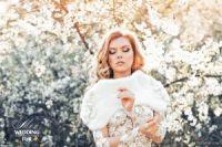 Норковая накидка Skornyakova Design Couture фото купить