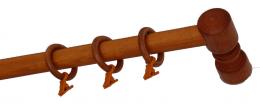 Карниз деревянный ДК 14 вишня