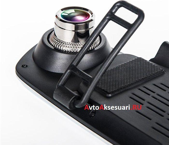 Видеорегистратор зеркало с камерой заднего вида PZ912